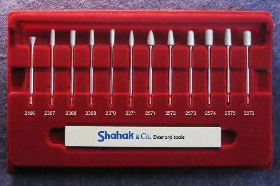 red kit from industrial dental diamond tools